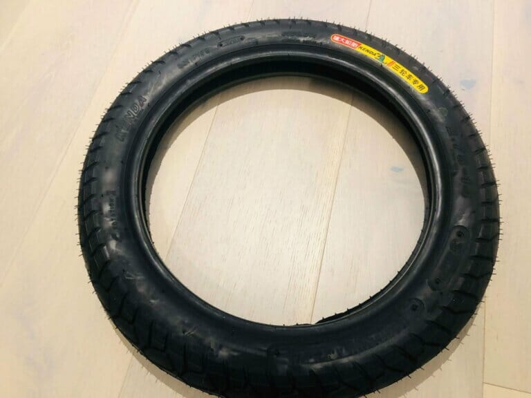 Veteran Sherman Electric unicycle side street tire