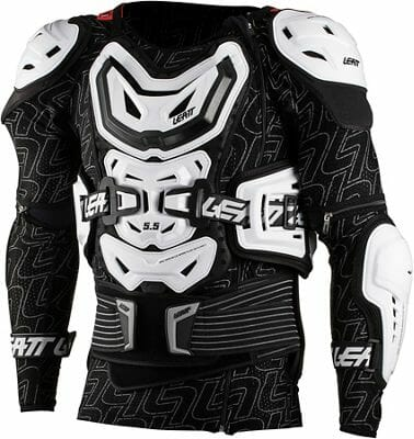 Leatt Body Protector 5.5 white