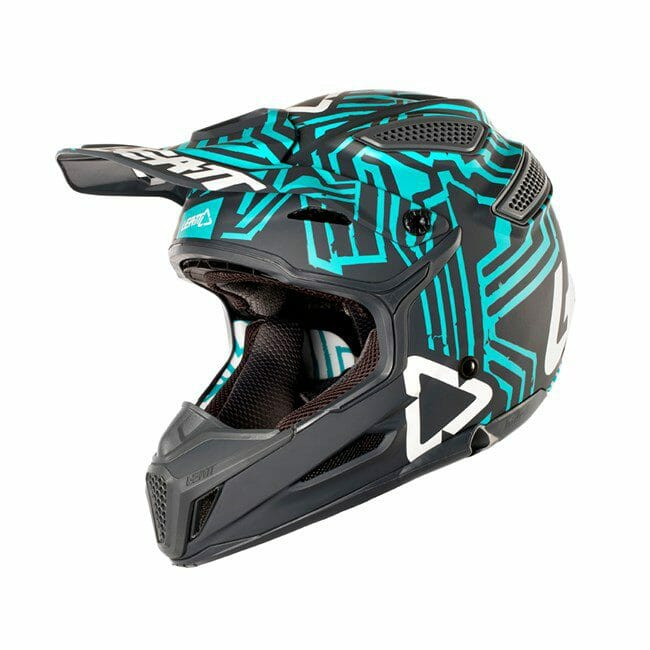 Leatt Helmet GPX 5.5 Composite V11 Grey Teal