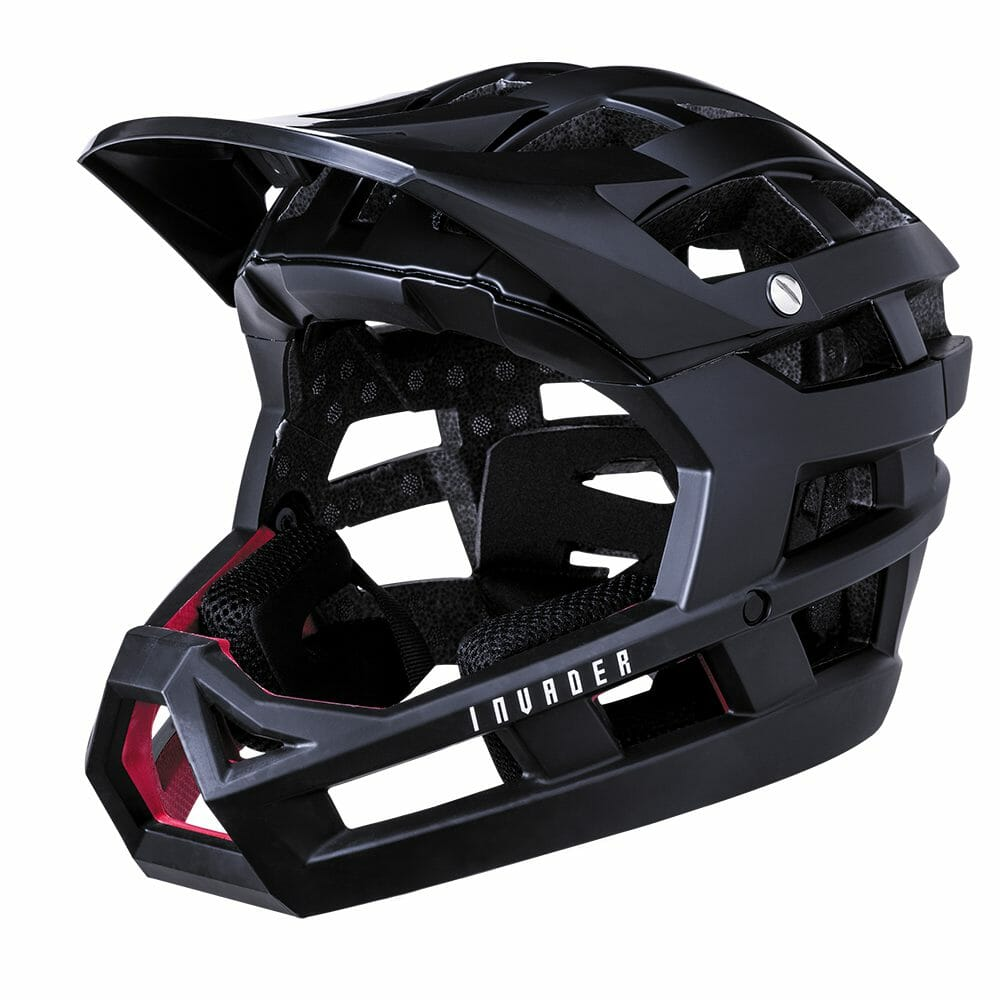Kali Invader Helmet Solid Matt Black