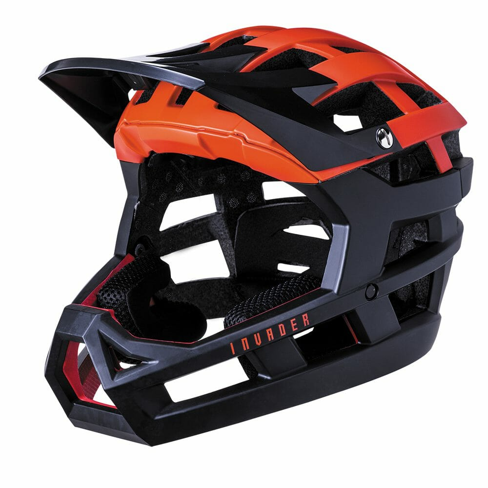 Kali Invader Helmet Solid Matt Red & Black