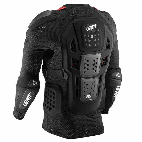 Leatt Body Protector 3DF AirFit Hybrid view from the back