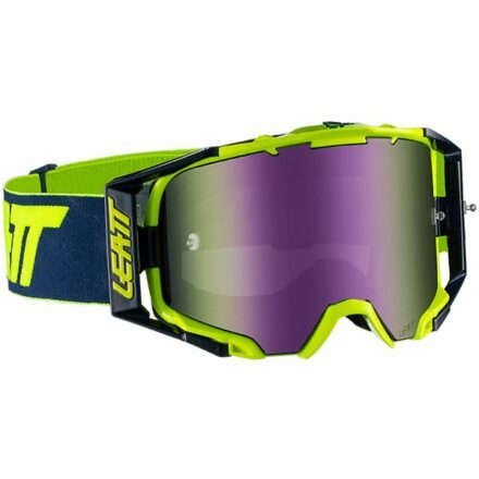 Leatt Velocity 6.5 Iriz Goggles Ink-Lime Blue