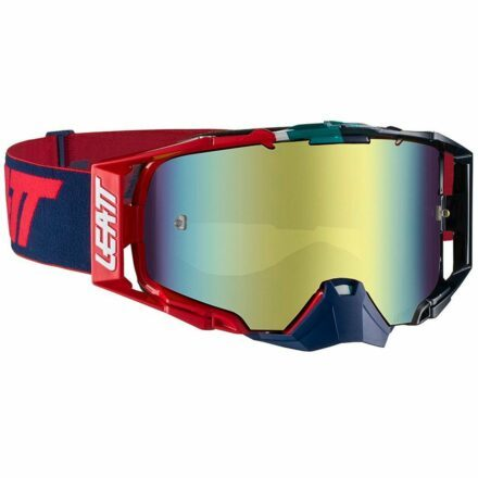 Leatt Velocity 6.5 Iriz Goggles Ink-Red Red