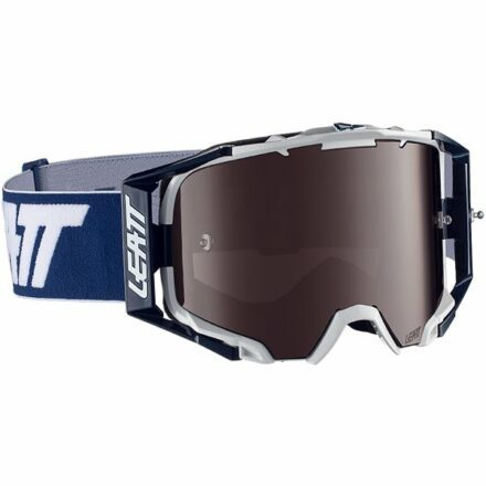 Leatt Velocity 6.5 Iriz Goggles Ink-White Blue