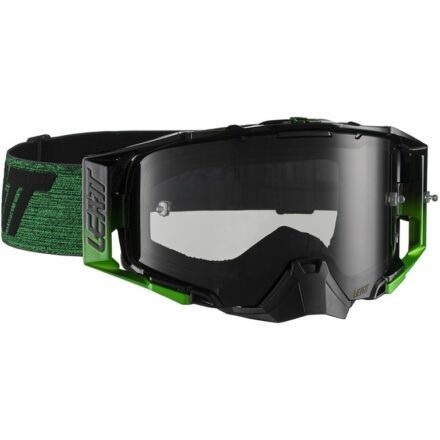 Leatt Velocity 6.5 Goggles Black Green Smoke