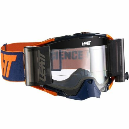 Leatt Velocity 6.5 Roll-Off Goggles Orange Clear