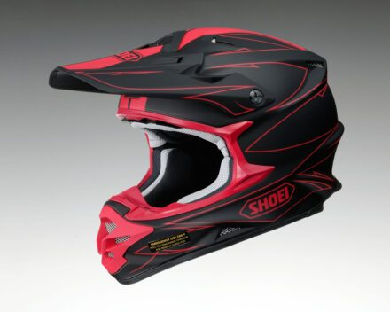 Shoei VFX-W Hectic TC1 Helmet view from the left