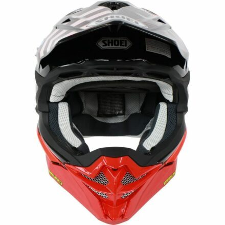 Shoei VFX-WR Grant3 Red Helmet front view
