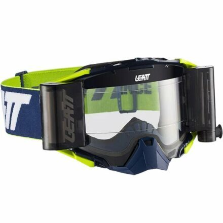 Leatt Velocity 6.5 Roll-Off Goggles White-Yellow Clear