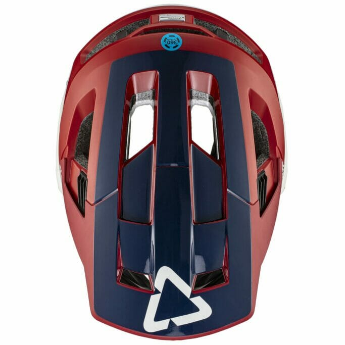 Leatt 4.0 Enduro Helmet top view